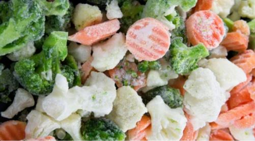 steaming frozen vegetables cover