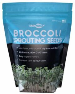 white sprouting broccoli seeds